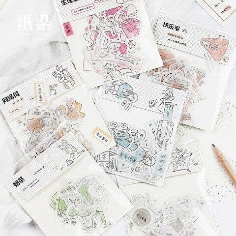 20 conjuntos 1 lote serie salt life agenda planejador decorativo adesivos moveis scrapbooking artesanato artigos