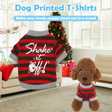 Pet Shirts Dog T-Shirts Pet Printed Clothes Pet Spring Autumn Winter Clothes Keep Warm Clothing for Small Medium Large Dogs Cats