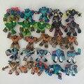 20/15 единицы товара, все разные оригинальный Gormiti игрушка фигурка Monster Солдат модель супер герой элемент рыцарь-воин коллекция, Детские кубик...