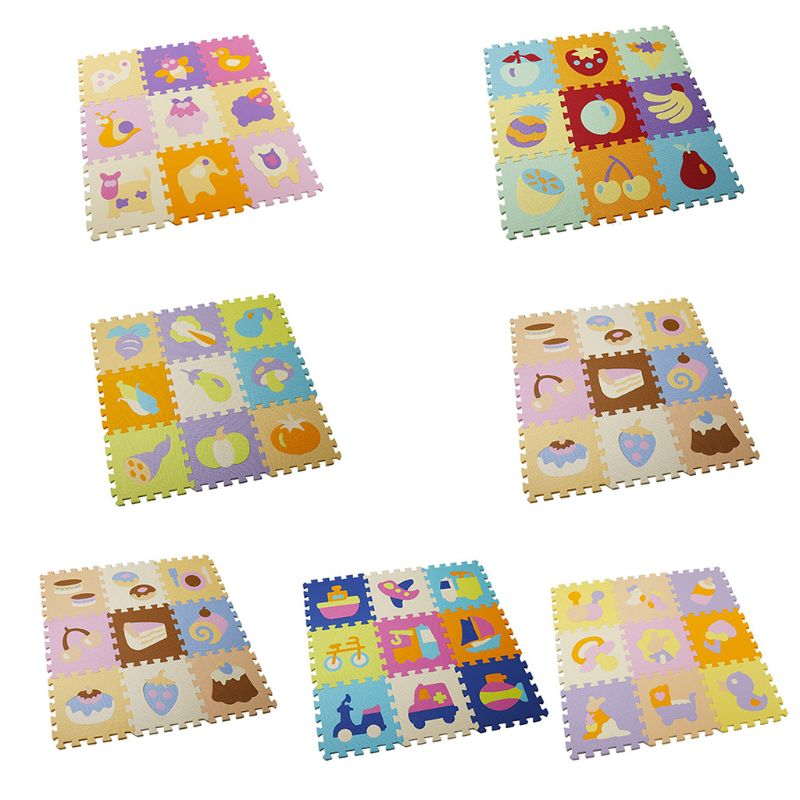EVA Baby Play Mat Puzzle Exercise Crawling Blanket Non-slip Floor Carpet Pad Educational Toy Bedroom Decor
