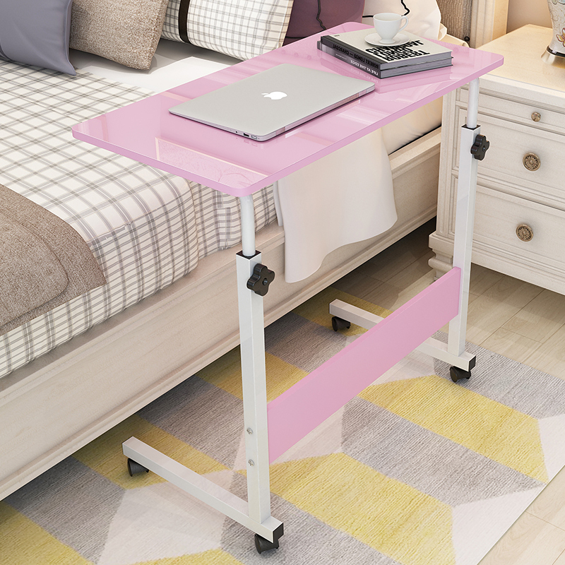 Simple Laptop Desk Bed With Desktop Home Simple Bedside Lift Mobile Writing Study Desk