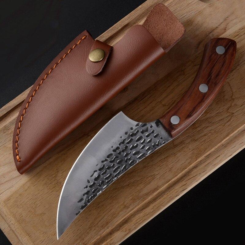 Ручной Кованый Нож для мясника 5,5