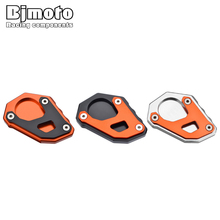 For KTM 1050 1190 1290 adventure 2016 2017 NEW CNC Aluminum Motorcycle Side Kickstand Stand Extension Plate Enlarge