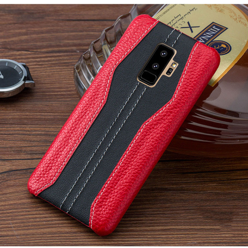 Чехол для samsung S9 S8 S7, роскошный кожаный чехол для samsung Galaxy S9 S8 S7 Edge, Винтажный чехол S9 S8 Plus