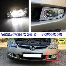 Для HONDA CIVIC противотуманный светильник s для HONDA CIVIC FD1 FD2 2006 2007 2008-2011 головной светильник s Для CIIMO 2012- светодиодный галогенный противотуманный светильник