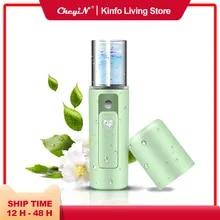 Steamer Pore-Cleaner Spa-Machine Face-Sprayer Nano Mister Nebulizer-Skin Moisturizing