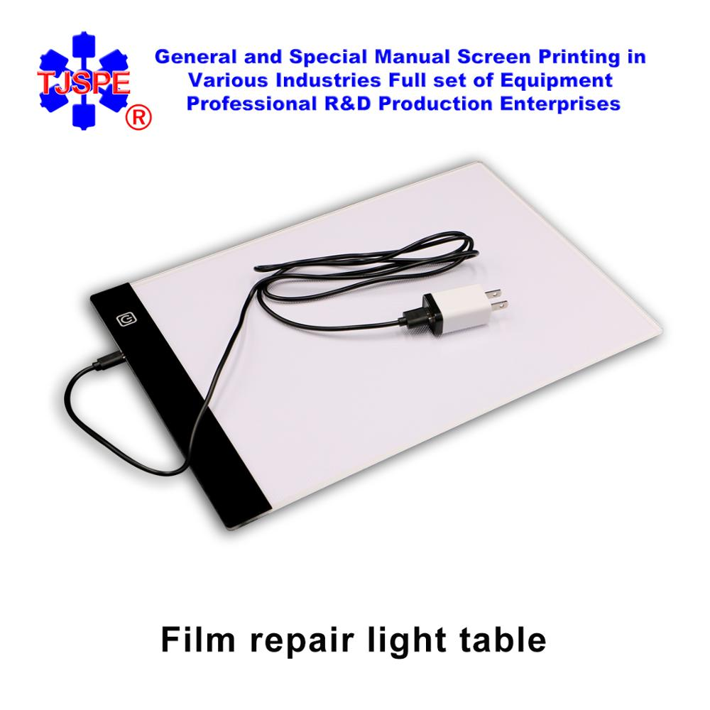 Film Repair Light Table Screen Printing  Make Plate