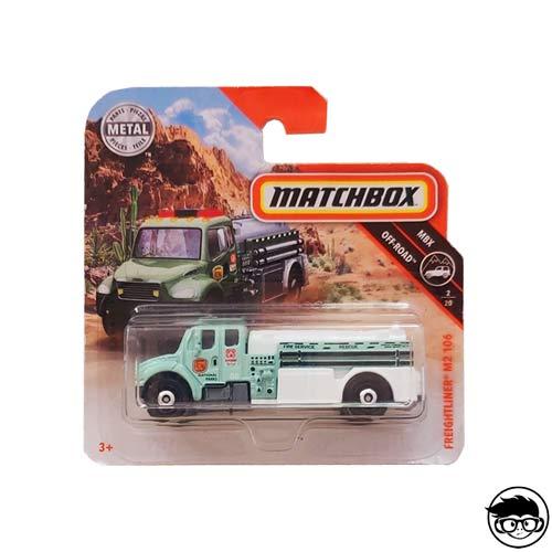 Matchbox Freightliner M2 106 MBX Off-Road 2/20 2018 Short Card