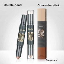 Face Makeup Foundation Concealer Pen Waterproof Long Lasting Dark Circles Corrector Contour Concealers Stick Cosmetic Makeup недорого