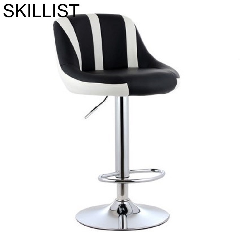 Stoel Table Sgabello Ikayaa Taburete Kruk Banqueta Todos Tipos Leather Stool Modern Tabouret De Moderne Cadeira Bar Chair