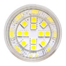 Pode ser escurecido MR16 conduziu a luz da lâmpada 12V 24V 10-30V 12LED 5050SMD 30W Equivalente Landscape Light Bulb - 120 Graus 1 pçs/lote