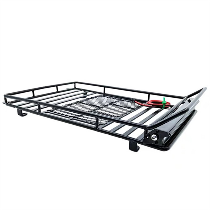 Metal RC Roof Rack Luggage Bracket for 1//10 Axial SCX10 TRX4 Crawler Car