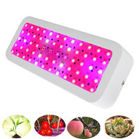 mini 600W led grow light double chip full spectrum plant growth lamp for indoor flower seedling tent grow box phyto lamp fitolam