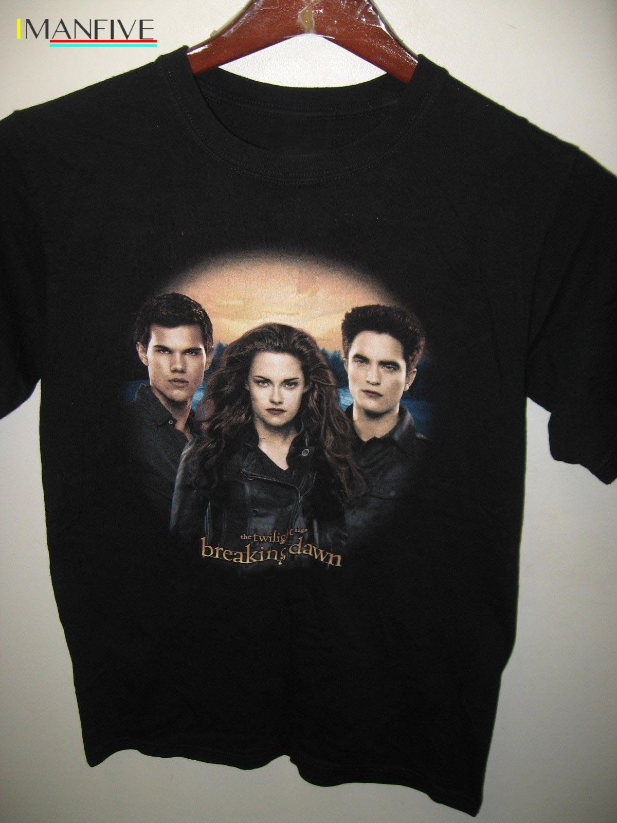 Breaking Dawn The Twilight Saga Part 2 Taylor Lautner 2012 Movie T Shirt shirt Summer The New Fashion For Short Sleeve image