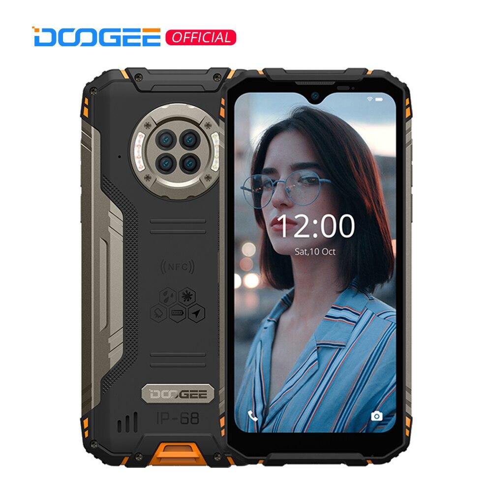 DOOGEE S96 Pro прочный телефон 48MP круглый Quad Камера прочный телефон 20MP инфракрасный Ночное видение Helio G90 Octa Core 8 + 128 Гб NFC 6,22