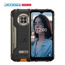 Doogee s96 pro robusto telefone 48mp redondo quad câmera áspera telefone 20mp infravermelho visão noturna helio g90 octa núcleo 8 + 128gb nfc 6.22