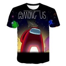 Clothing Tops T-Shirt Short-Sleeve Game 3d-Printed Toddler Girls Kids Boys Children's