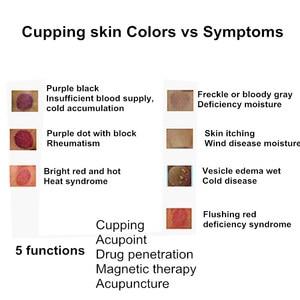 Image 5 - 18pcs כוסות ואקום סט TCM טיפול מגנטי אקופרסורה יניקה כוס מרידיאן עיסוי צנצנות עם קרם