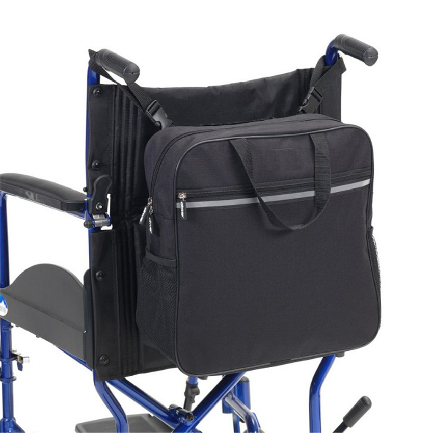 Multi-functional Adjustable Wheelchair Storage Bags Waterproof Travel Portable Sundries Organizer Storage Bags Wheelchair Pouch