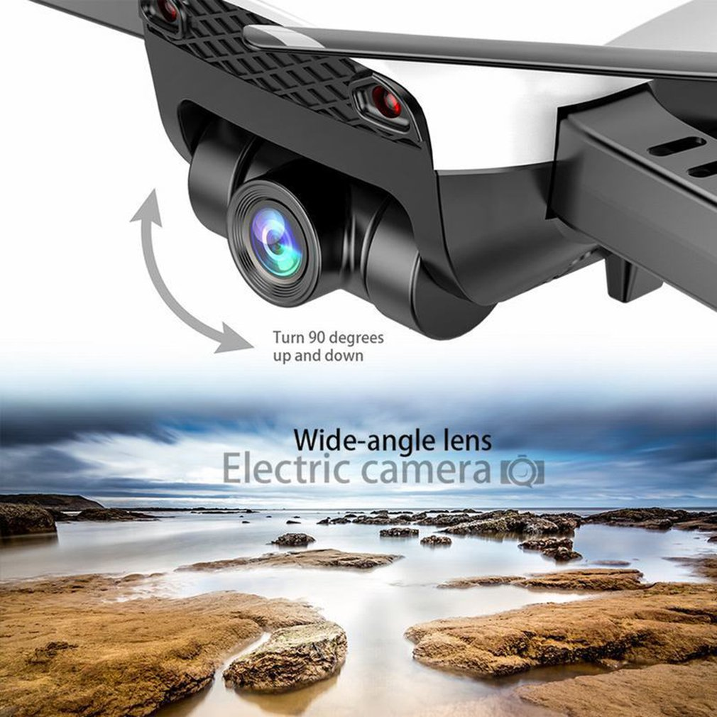 lowest price X12S Drone With 1080P Camera HD Wide Angle RC Plane White 2 4GHz WiFi FPV Drone RC Helicopter Altitude Hold RC Quadcopter