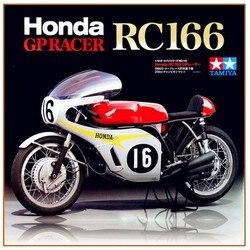Tamiya-Kits d'assemblage de moto, 14113 et 1/12 échelles Honda RC166, Collection de modèles de construction
