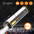 UYC X5mini Waterproof LED Outdoor Light Portable SOS Emergency Light USB Rechargeable Lamp Camping Light Flashlight Torch