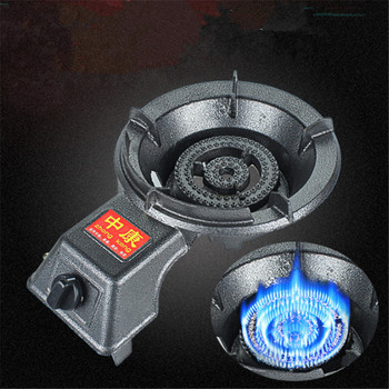 Outdoor Portable gas stove Commercial fierce fire hotel kitchen medium pressure furnace stove fast cooking high flame
