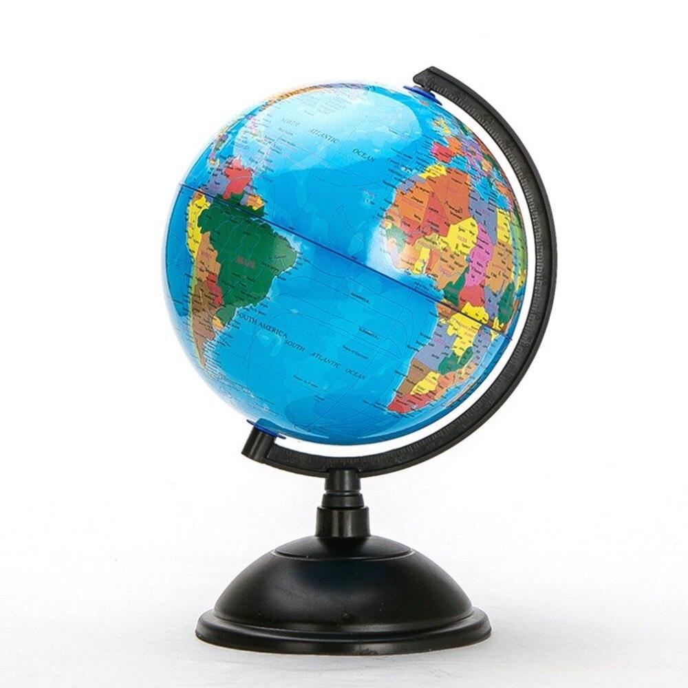 Карта мира океана с поворотной подставкой, развивающие игрушки для детей, подарки для офиса 20 см