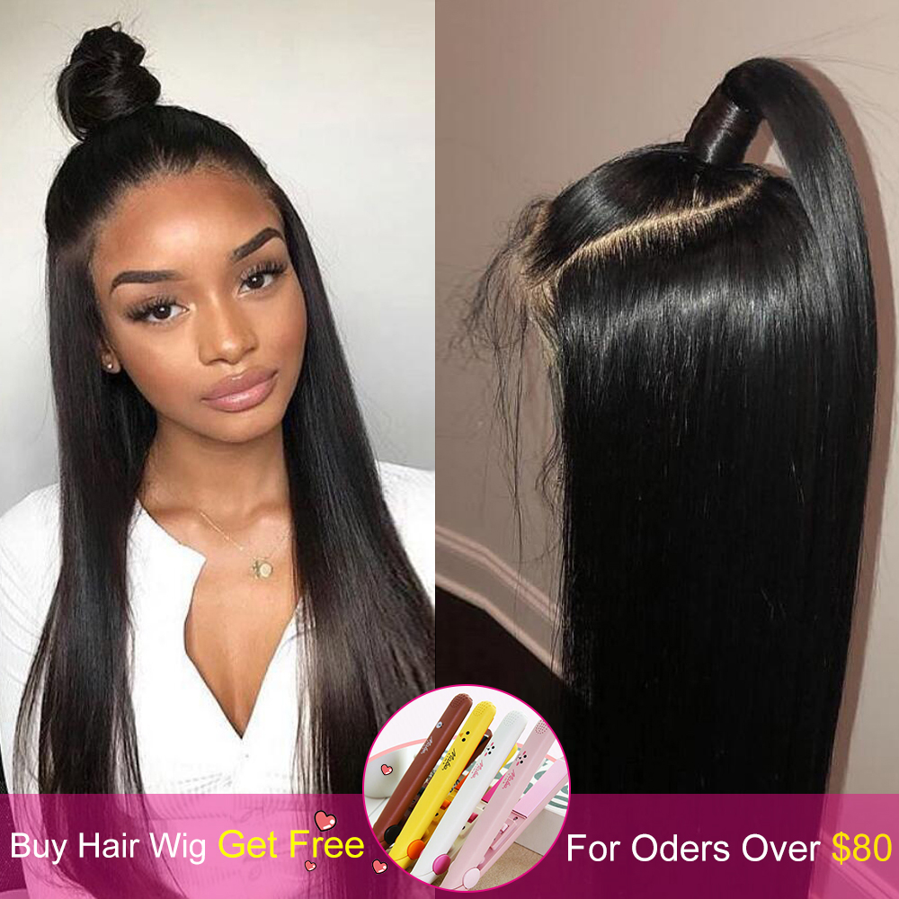 straight-closure-wig-human-hair-wigs-with-closure-4x4-lace-wig-nicelight-indian-wig-remy-natural-hair-long-black-closure-wig