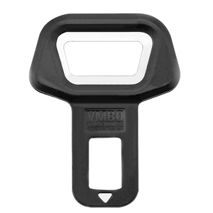 Image 4 - EAFC Universal Car Safety Belt Clip Car Seat Belt Buckle Vehicle mounted Bottle Openers Car Accessories