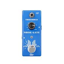 ISET gürültü kapısı gürültü azaltma bastırıcı gitar efekt Pedal 2 modları gerçek Bypass alüminyum alaşım kabuk gitar aksesuarları