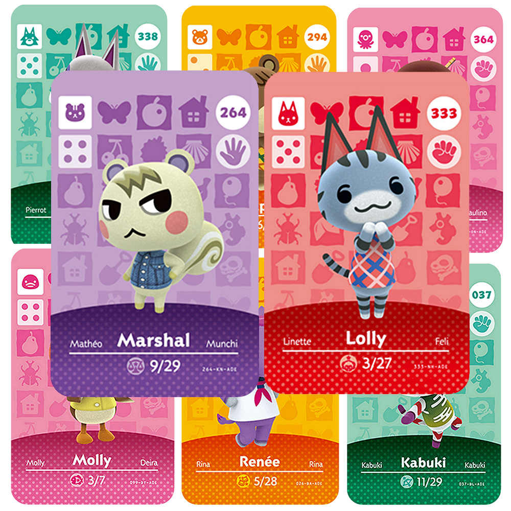 Amiibo Animal Crossing כרטיס 264 333