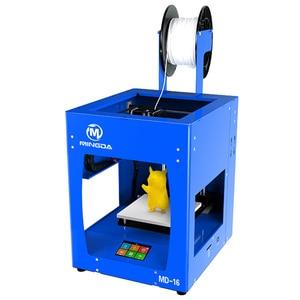 3D Printer Metal Printer Kit 3D Printing FDM 3D Kit Printer PLA ABS TPU Full Metal Frame Mingda MD16 Vs Ender 3 Pro EU Warehouse