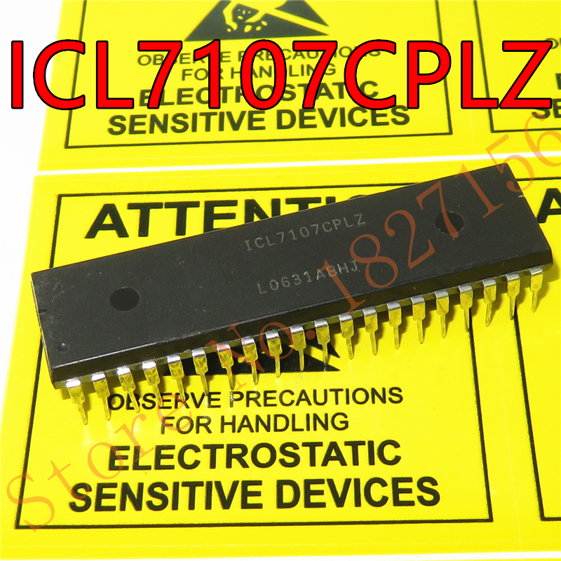 5pcs/ Lot . ICL7107CPLZ ICL7107CPL ICL7107 DIP-40 In Stock Clearance Sales