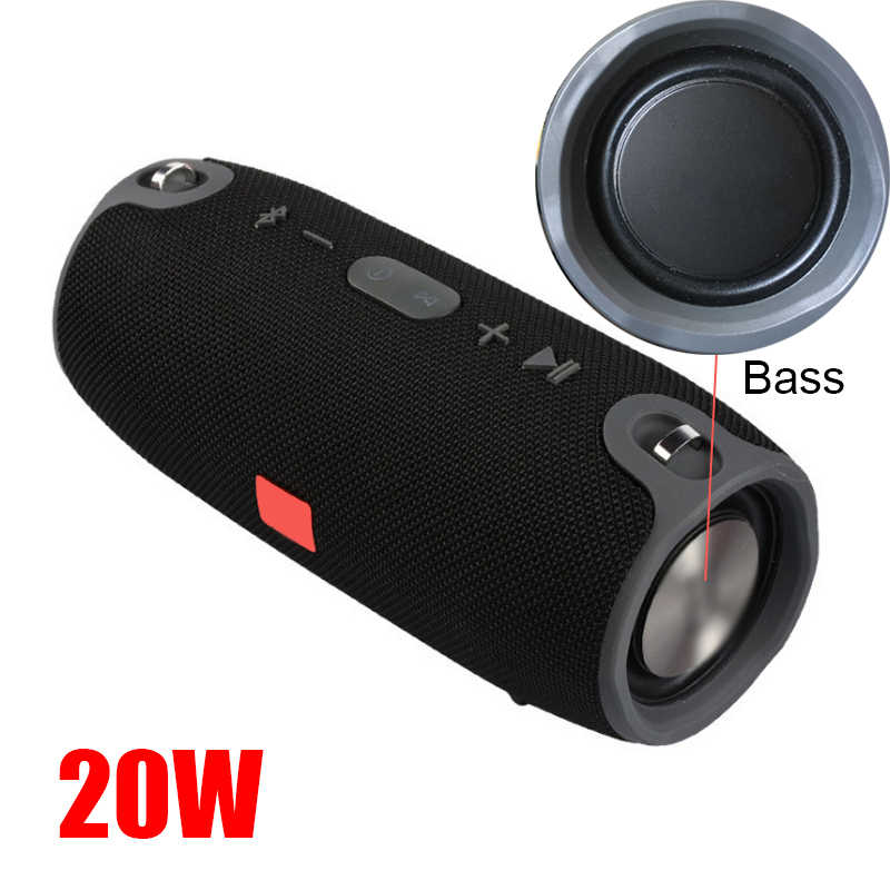 Wireless Best Bluetooth Speaker Waterproof Portable Outdoor Mini Column Box Loudspeaker Powful Speaker Design For Phone Tablets