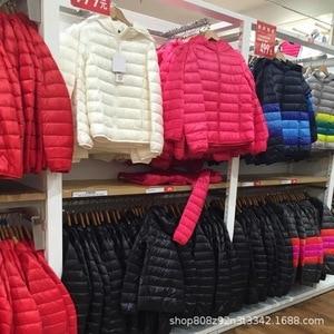 Image 4 - ZOGAA chaud chaud hiver veste nouvelle fermeture éclair hiver manteau femmes court Parkas chaud mince court vers le bas coton veste avec poche 27 couleur