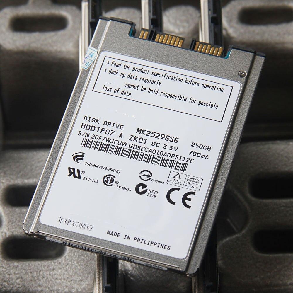 "1.8/"" MK2533GSG MICRO SATA 250GB Hard Drive For HP Elitebook 2530P 2730P 2740P"