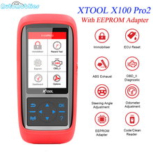 XTOOL X100 Pro2 Auto Key Programmer with EEPROM Adapter Odometer Adjustment Car diagnostic Scan tool OBD2 Free Update Online