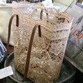 Летние богемные соломенные сумки, кошельки, сумочки, женская сумка с верхней ручкой, вместительная сумка-мешок из ротанга, пляжные кружевны...