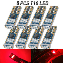 T10 LED W5W For Renault Laguna Clio Megane Grand Scenic Espace 1 2 3 4 CC Kangoo Koleos Captur Kadjar Modus LED Interior Light