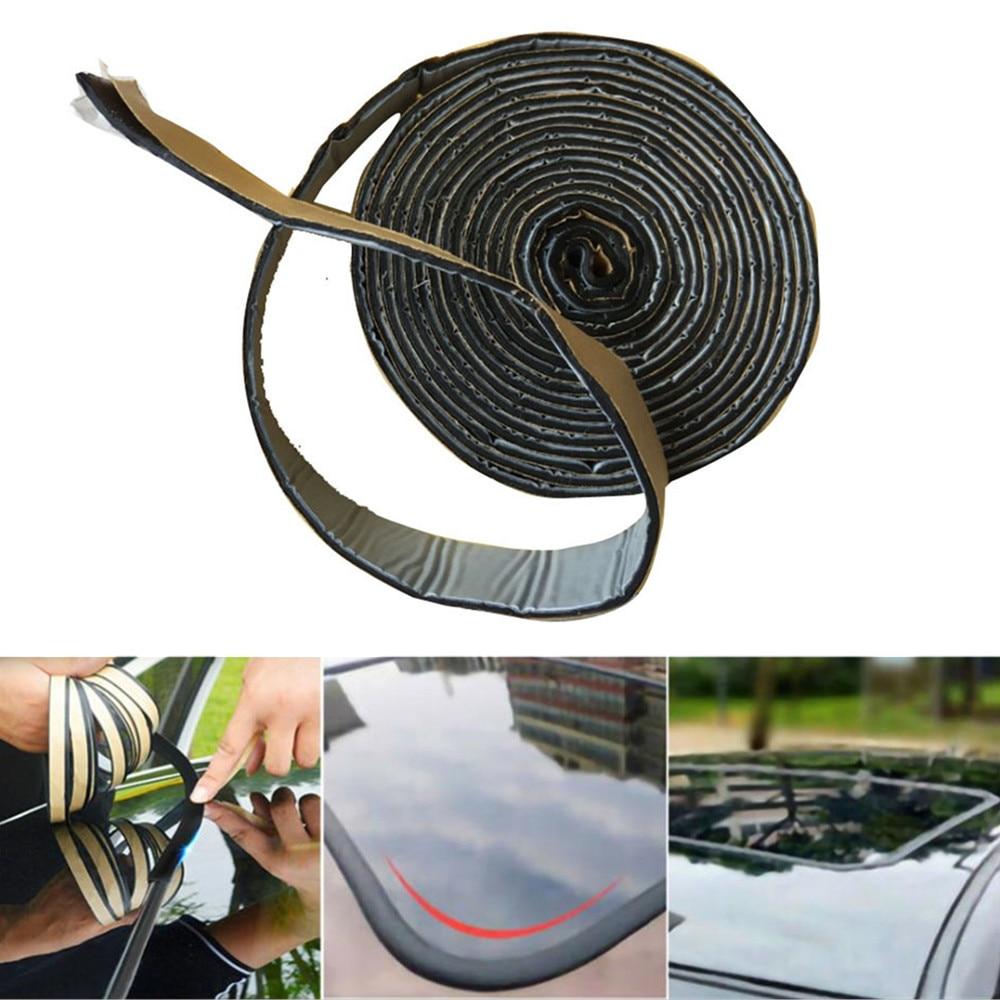 Черный бутилкаучуковый клей для автомобильных фар, герметик для модификации, усовершенствованная ксеноновая лента для фар, защитный клей д...