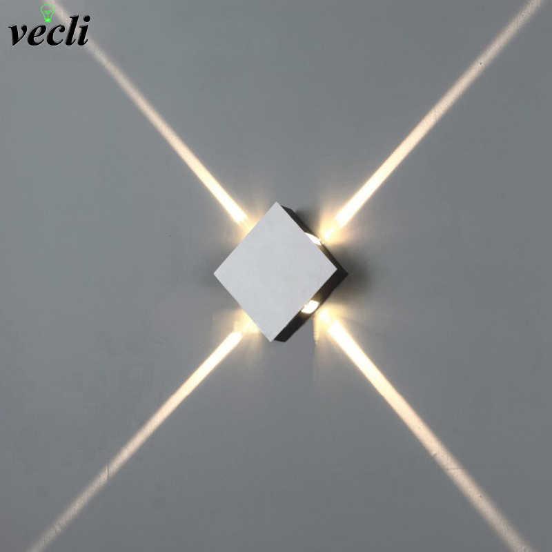 6W 12W Lampu Dinding LED Spot Light LED Modern Rumah Dekorasi Lampu untuk Kamar Tidur/Ruang Makan/kamar Kecil AC85-265V Bar Dalam Ruang