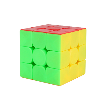 this is the stickerless 3x3 cube