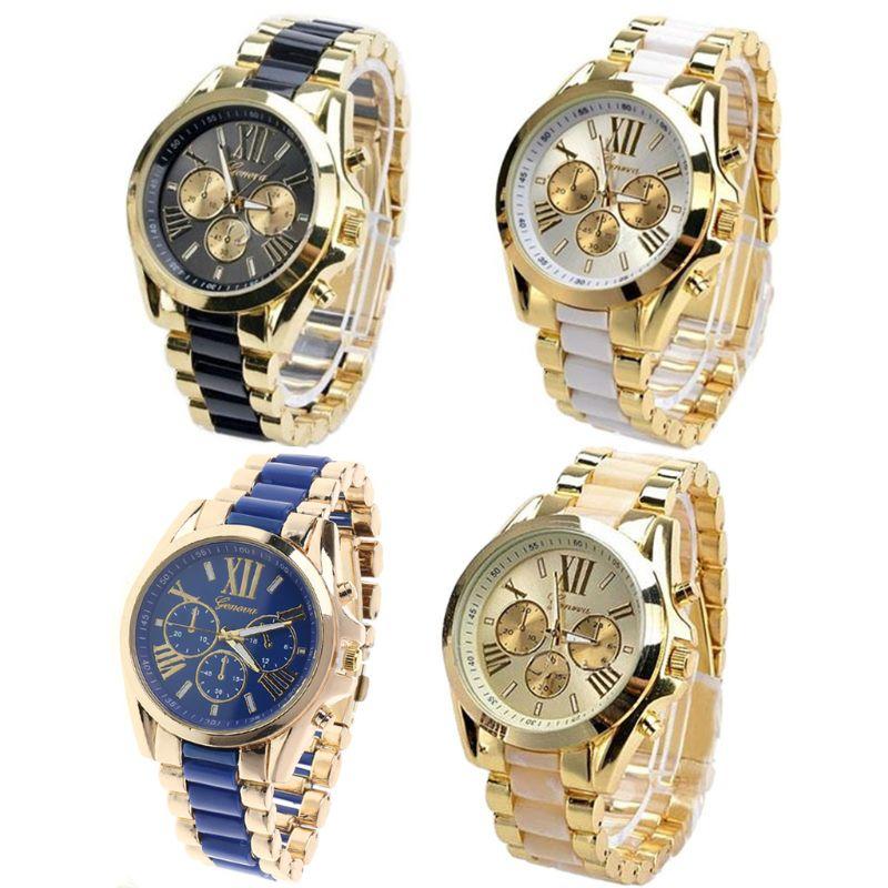 New Fashion Luxury Classic Men Stainless Steel Quartz Analog Wrist Watch