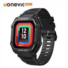 Uonevic новые умные часы c16 3atm глубокие водонепроницаемые
