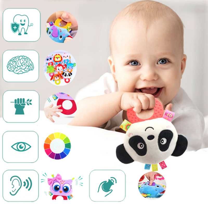 Educative Toy Baby Children Toys For Babies Of 12 Months Toddler Newborn Rattles Developing Teether Kids Soft Stuff Toddlers
