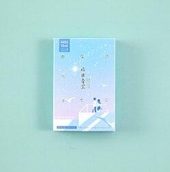 L199-голубое небо бумажные поздравительные открытки ЛОМО (1 упаковка = 28 штук)