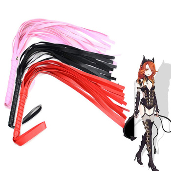 Erotic Sex Whip For Adult SM Games Leather Slave Spanking Bondage Flogger Whip Sex Toys For Couple Woman Man Sexy Adult Products