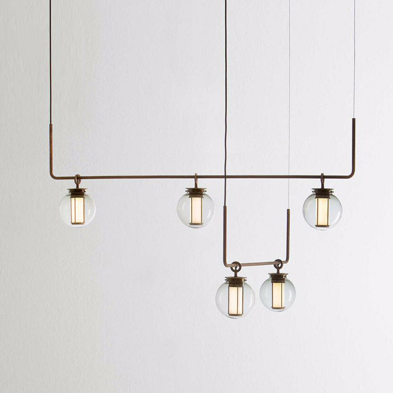 nordic deco maison iron LED  pendant lights  living room  hanglamp|Pendant Lights| |  - title=
