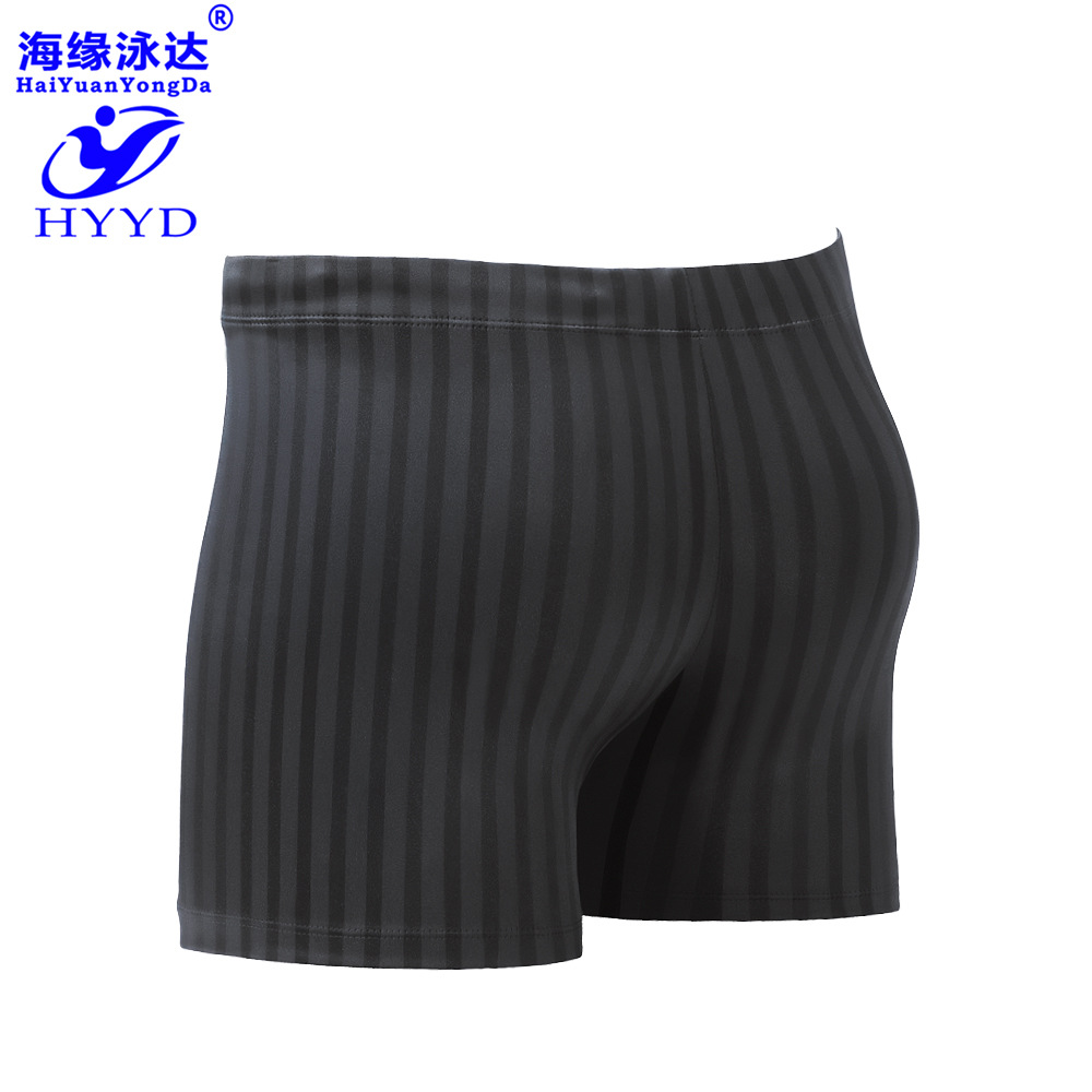 2019 New Style Summer MEN'S Swimming Trunks-Style Quick-Dry Waterproof Plus-sized Hot Springs Swimwear Beach Swimming Trunks